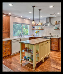 """Farm Style Kitchen"" by Mel Carll"