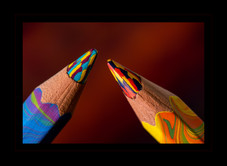 """'Dueling Pencils"""" by Roy Patience"""