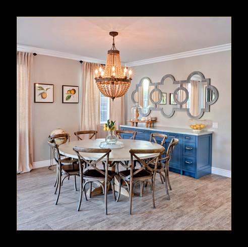 """""""Lemon Dining Room"""" by Mel Carll"""