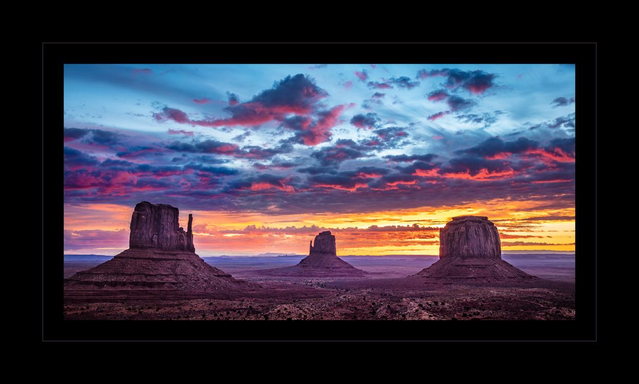 """Monumental Sunrise"" by John Grusd"