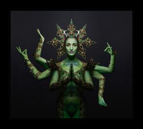 """The Green Goddess"" by Rosalind Guder"