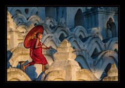 """""""Monk Crossing"""" by Bobby Tan"""