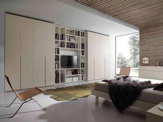 Combination wardrobe by Kico combining wardrobe and storage elements