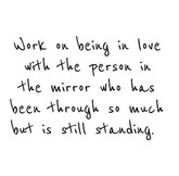 work on being in love with person in mir