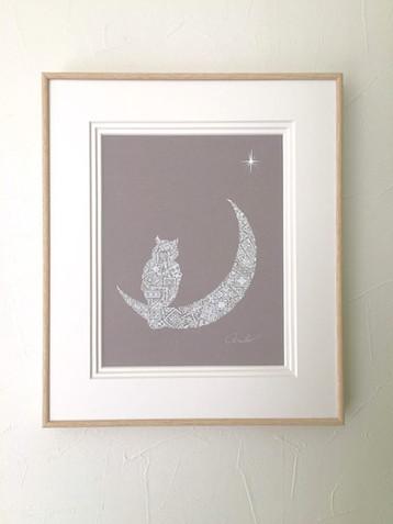 月とフクロウとヴィーナス