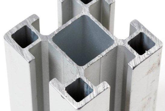 Cut aluminum part.