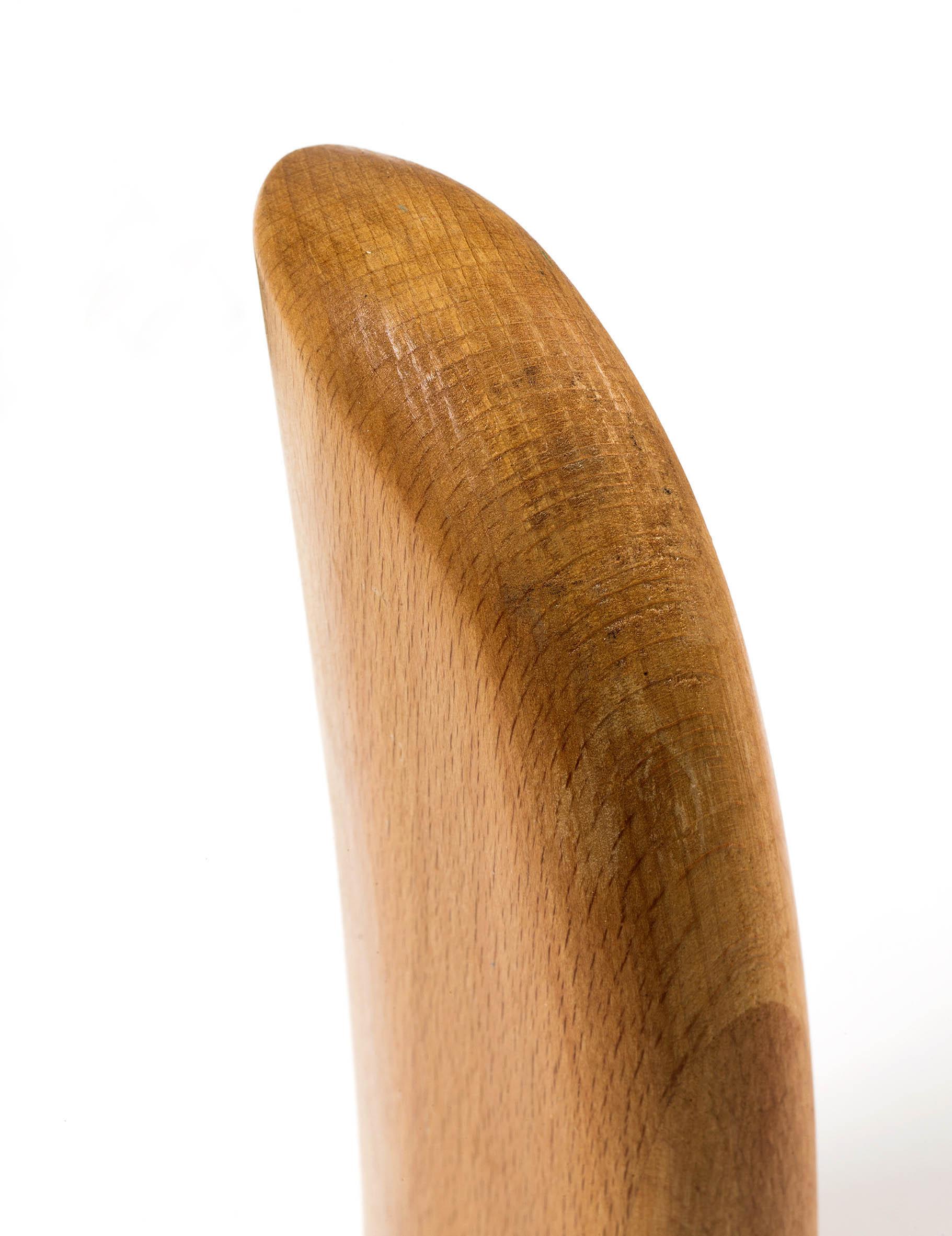 Sanded wood part.
