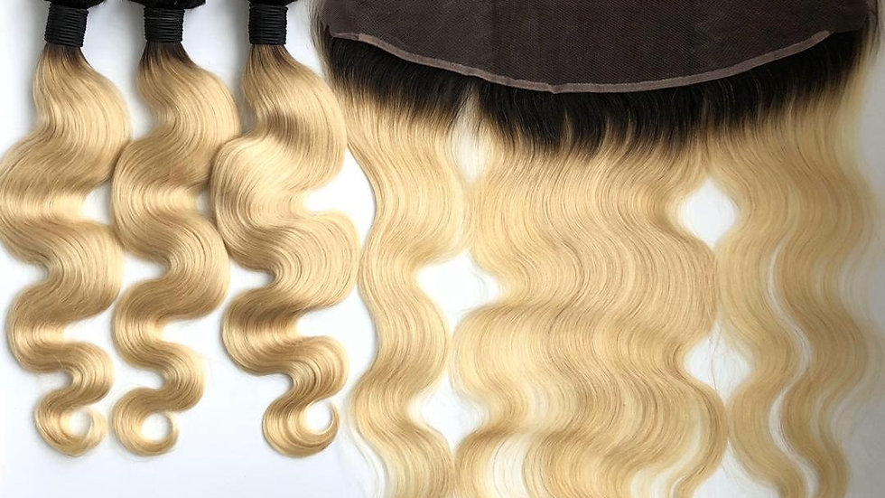 Body Wave #613 Blonde Frontal