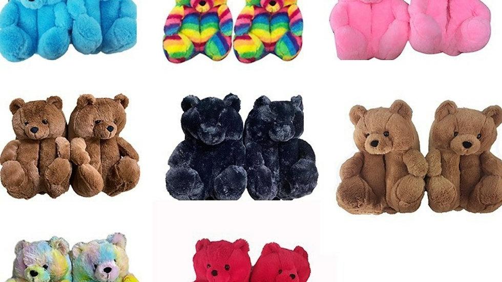 Teddy Bear Slippers 🧸