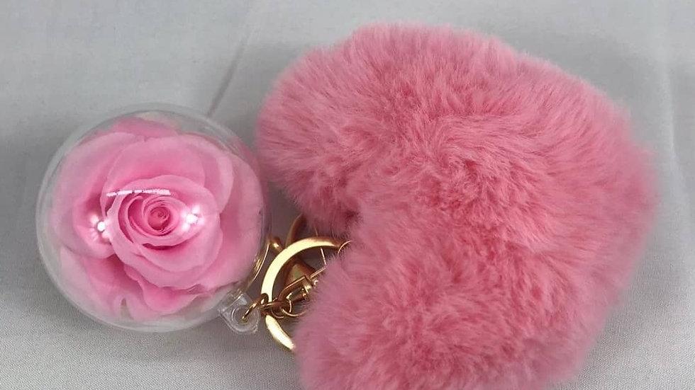 Forever Rose 🌹 Keychain