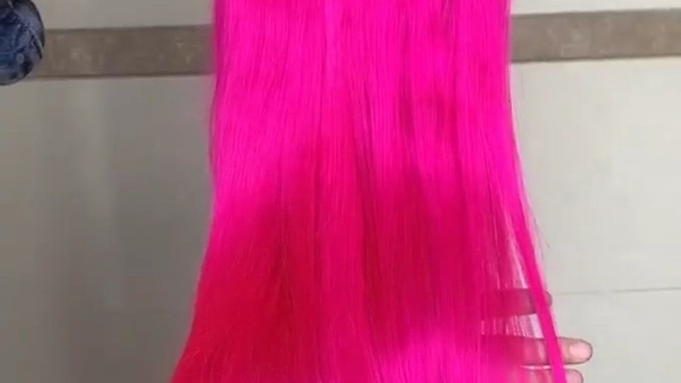 Hot Pink Straight