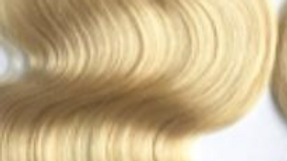 Body Wave #613 Blonde Closure