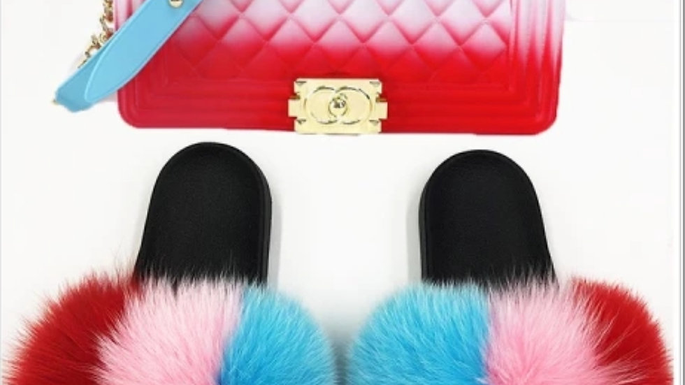 Bomb Pops Fur slides