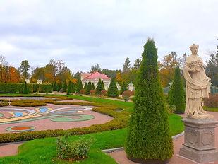Нижний сад в Ораниенбауме