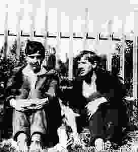 Маяковский и Чуковский в Куоккала (Репино)