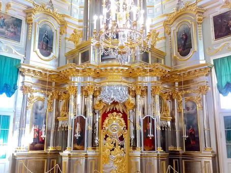 Возрождена дворцовая церковь в Ораниенбауме