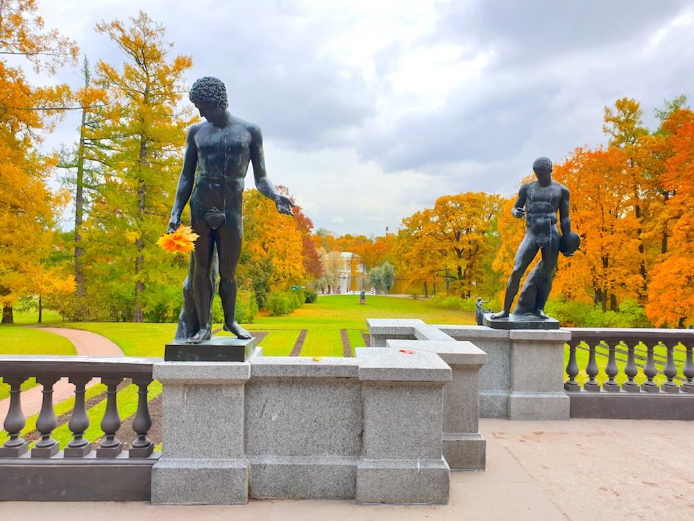 Скульптура Екатерининского парка