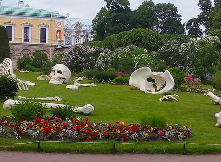 Гламурный сад с философским подтекстом