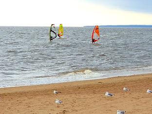 Золотой пляж в Зеленогорске