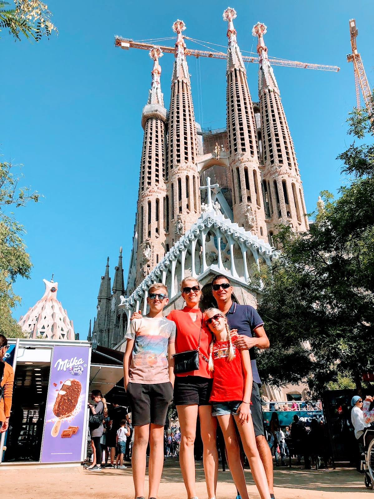 Sagrada Família en Gaudí fietstocht