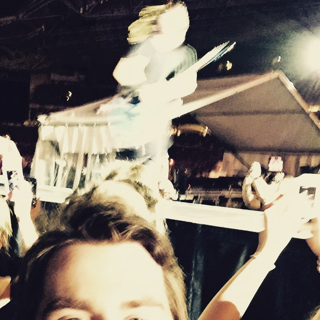 Instagram - A blurry Dave Grohl !!