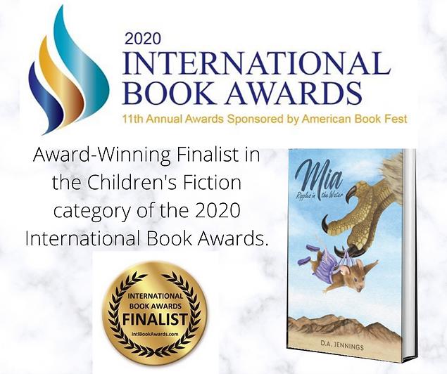 Award-Winning Finalist in the Children's