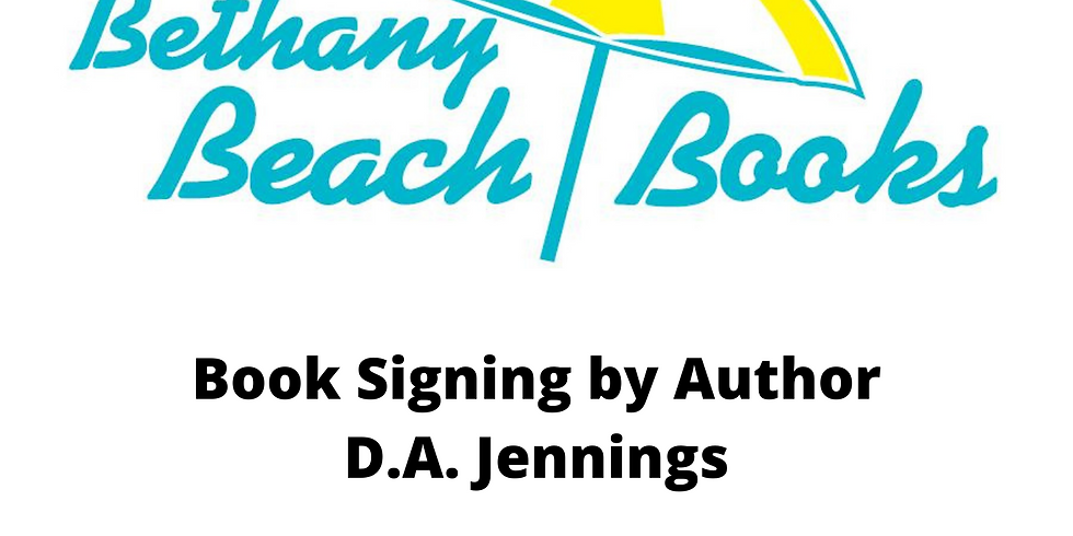 Meet Debbie at the Beach  -  Bethany Beach Books in Delaware