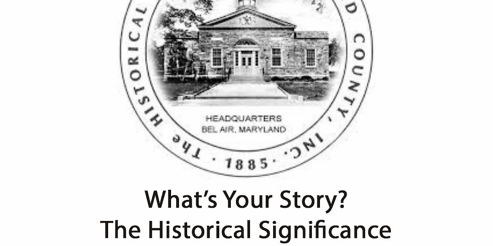 Writing a Memoir: What's Your Story? The Historical Significance of Looking Back