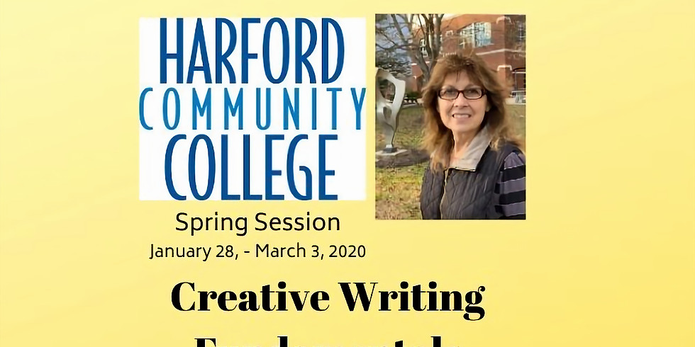 Creative Writing Fundamentals - Harford Community College Spring Sessions