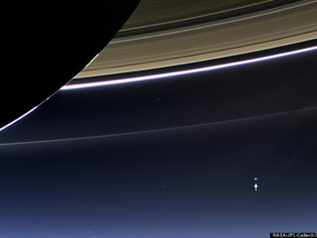 Carl Sagan and Pale Blue Dot Environmentalism