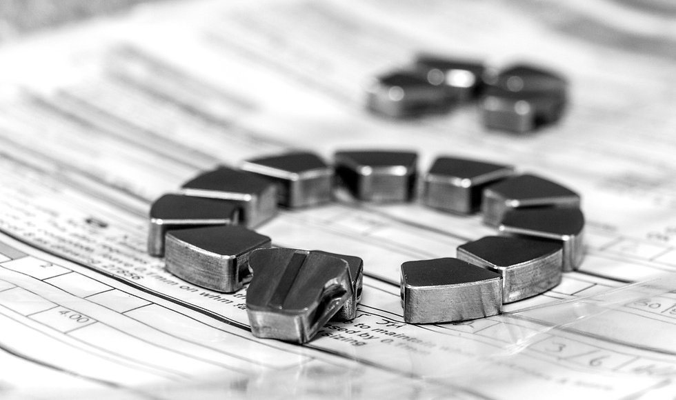 White metal bearing repair