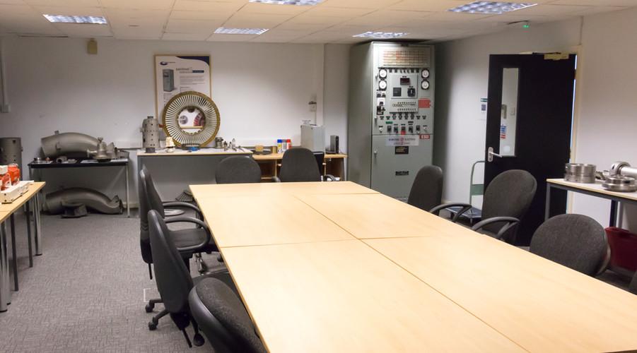 Practical training room