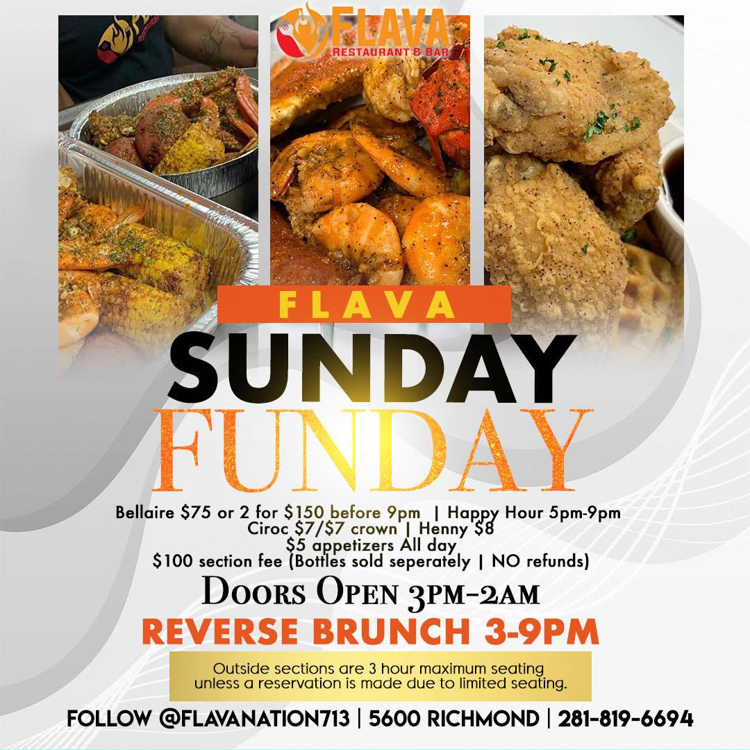 Flava Sunday Funday