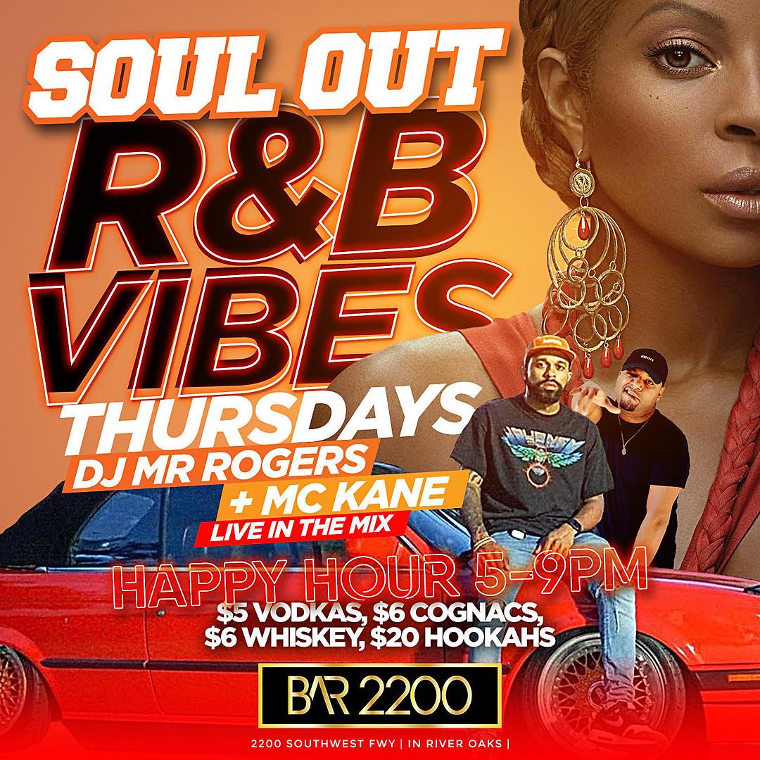 Soul Food R&B Vibes Thursdays