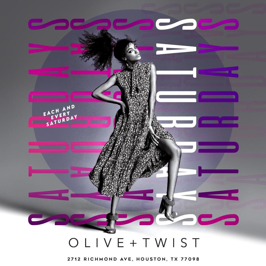 Olive & Twist Saturdays
