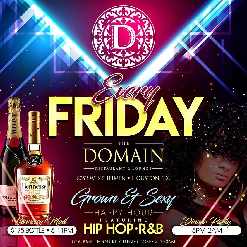 Friday at The Domain
