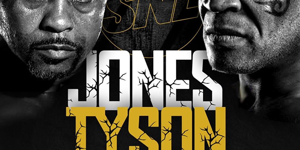 Tyson Vs. Jones Watch Party