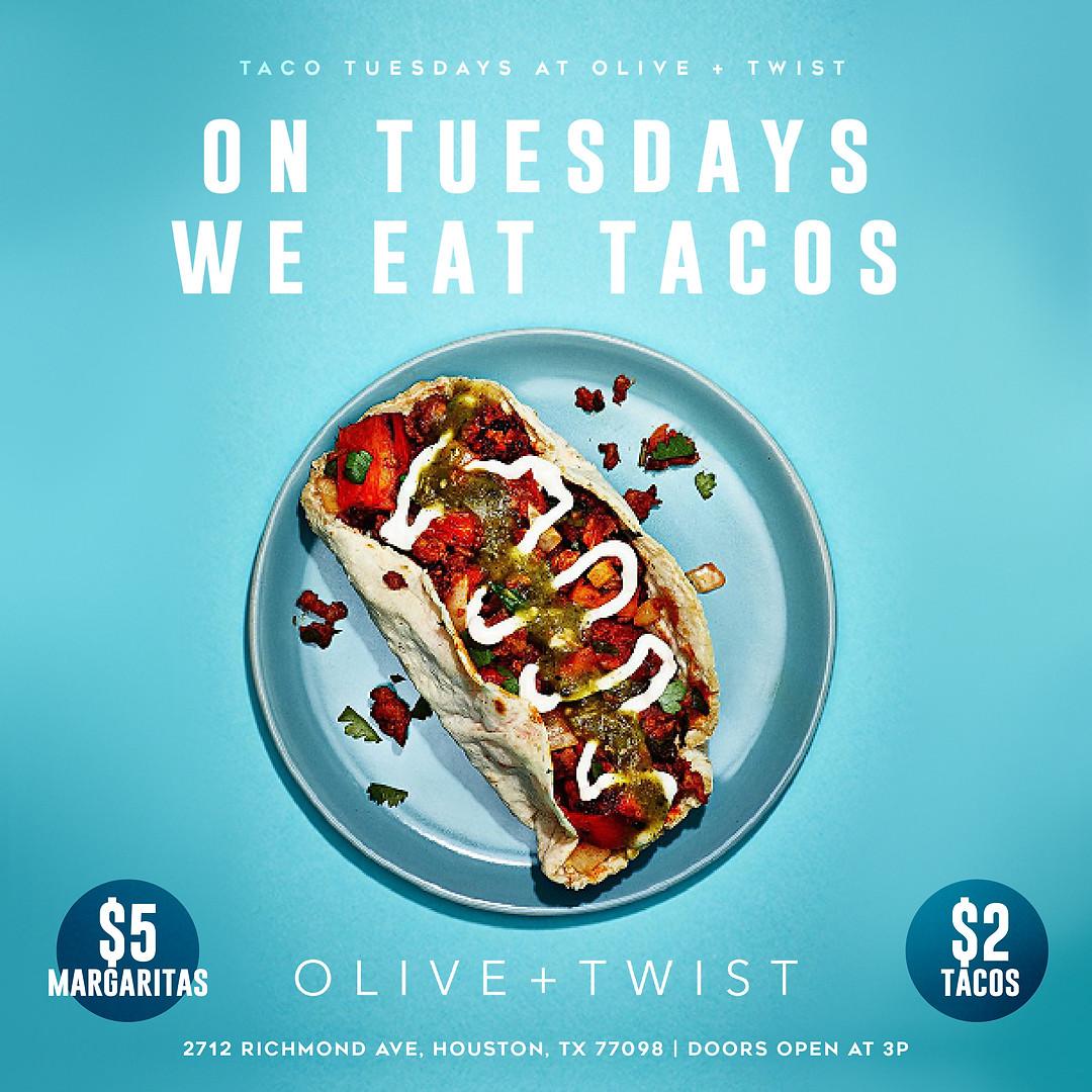Olive & Twist Tuesdays