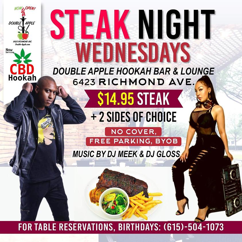 Steak Night Wednesdays