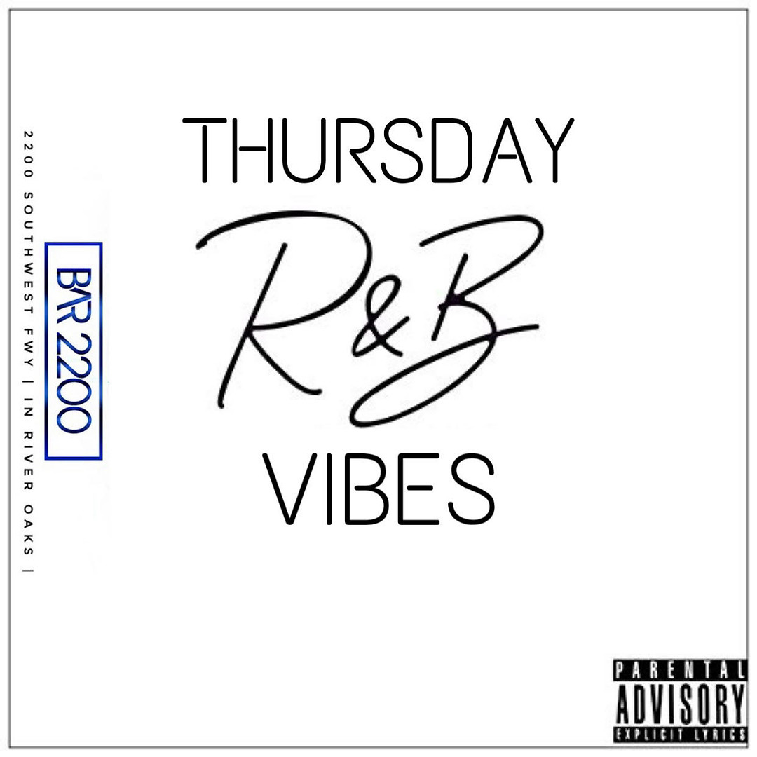 Thursday R&B Vibes