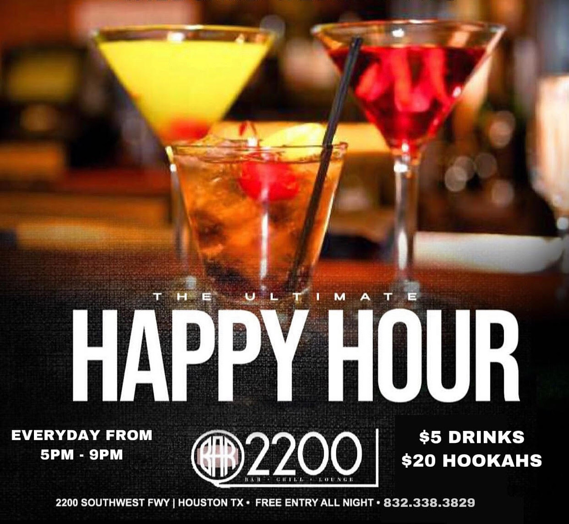 The Ultimate Happy Hour