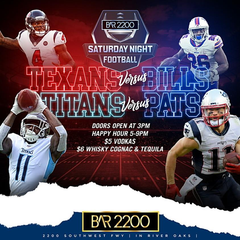 Bar 2200 Saturday Night Football