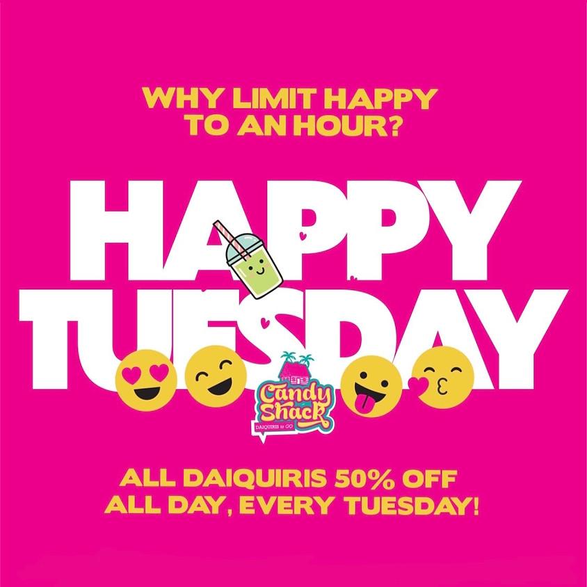 50% Off Daiquiris  Every Tuesday