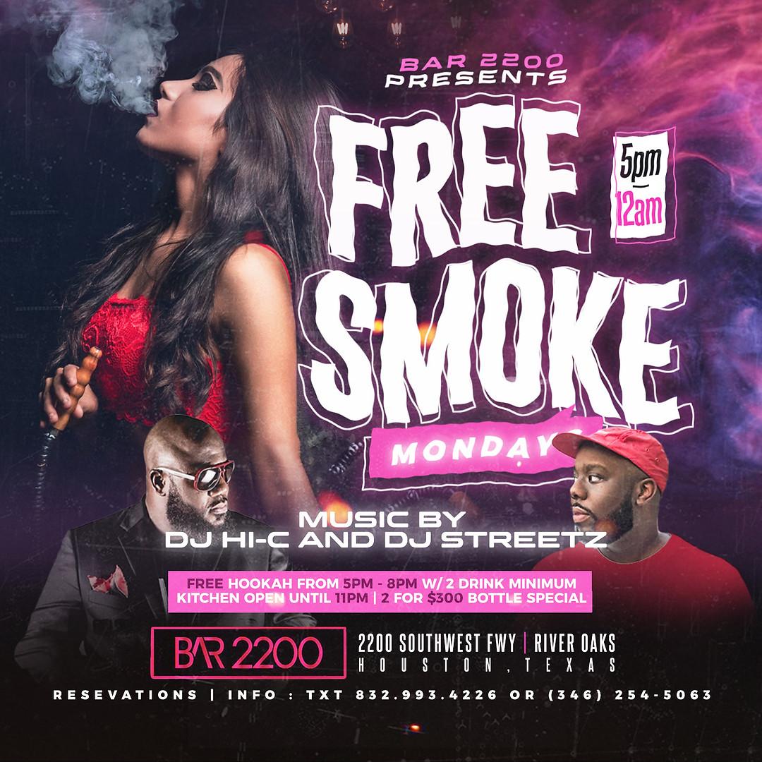 Free Smoke Monday