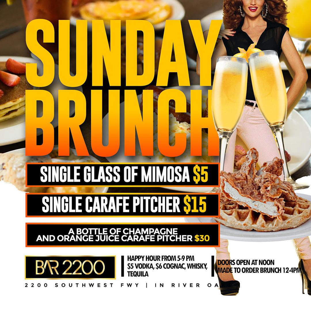 Bar 2200 Sunday Brunch