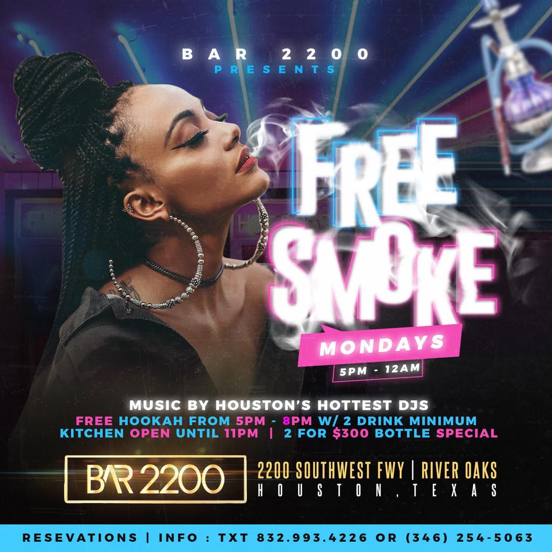 Free Smoke Mondays