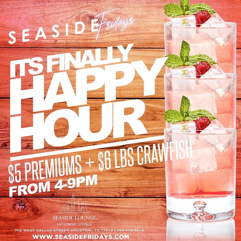 Seaside Friday Happy Hour