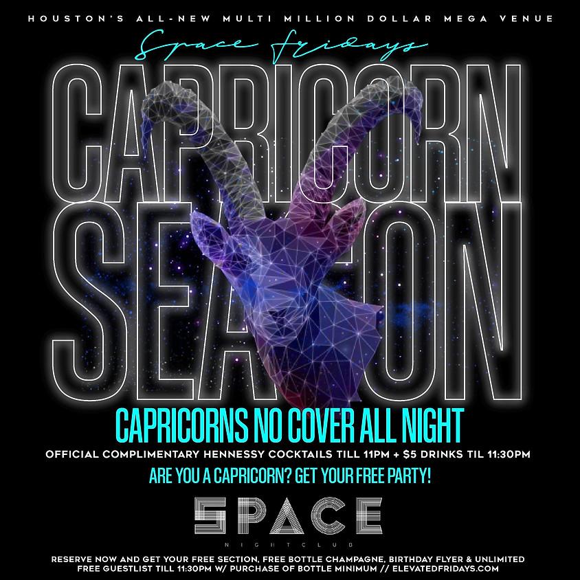 Space Fridays Capricorn Season