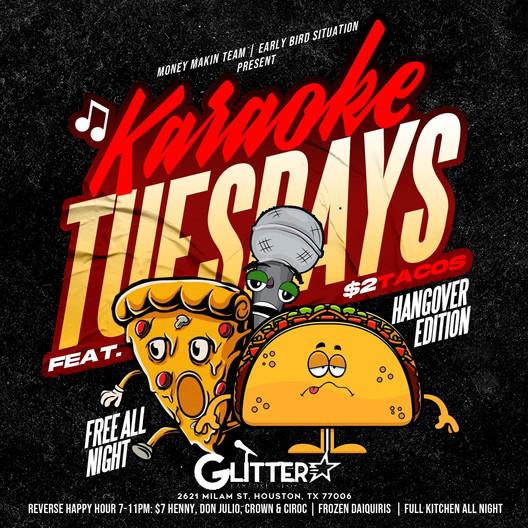 Glitter Karaoke Wednesdays