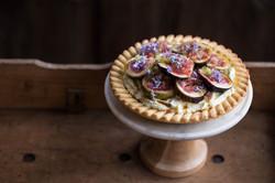 Click for Fig and Finger lime Tart